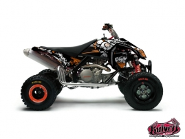 KTM 450-525 SX ATV Trash Graphic Kit Black Orange
