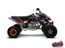 KTM 450-525 SX ATV Trash Graphic Kit Black Pink