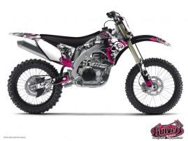 Kawasaki 450 KXF Dirt Bike Trash Graphic Kit