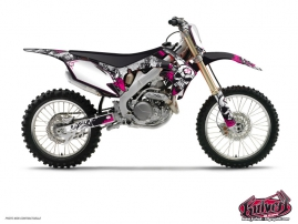 Honda 85 CR Dirt Bike Trash Graphic Kit