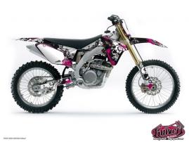 Suzuki 85 RM Dirt Bike Trash Graphic Kit