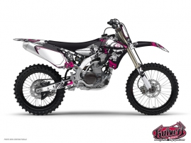 Kit Déco Moto Cross Trash Yamaha 85 YZ Rose