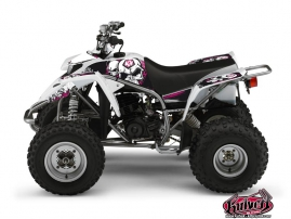 Yamaha Blaster ATV Trash Graphic Kit Black Pink