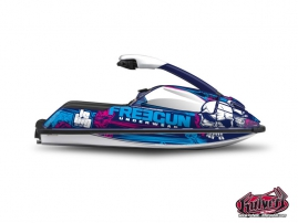 Yamaha Superjet Jet-Ski Trash Freegun Graphic Kit