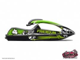 Kawasaki SXR 800 Jet-Ski Trash Graphic Kit