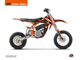 KTM SX-E 5 Dirt Bike Trophy Graphic Kit Black Orange