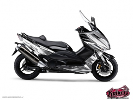 Yamaha TMAX 530 Maxiscooter Velocity Graphic Kit White Black
