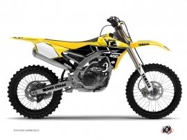 Yamaha 450 YZF Dirt Bike Vintage Graphic Kit Yellow