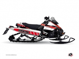 Yamaha FX Nitro Snowmobile  Vintage Graphic Kit Red