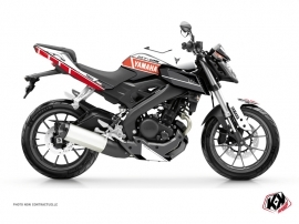 Yamaha MT 125 Street Bike Vintage Graphic Kit Red