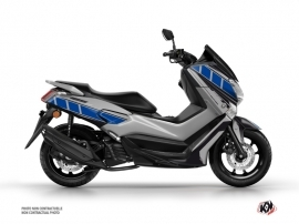 Yamaha NMAX 125 Maxiscooter Vintage Graphic Grey Blue