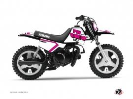 Yamaha PW 50 Dirt Bike Vintage Graphic Kit Pink