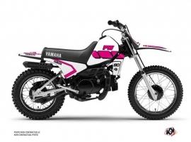Yamaha PW 80 Dirt Bike Vintage Graphic Kit Pink