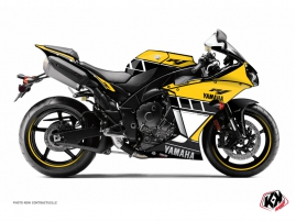 Yamaha R1 Street Bike Vintage Graphic Kit 60th Anniversary