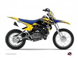 Yamaha TTR 110 Dirt Bike Vintage Graphic Kit Yellow