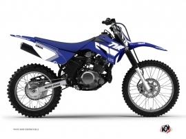 Yamaha TTR 125 Dirt Bike Vintage Graphic Kit Blue