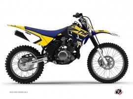 Yamaha TTR 125 Dirt Bike Vintage Graphic Kit Yellow