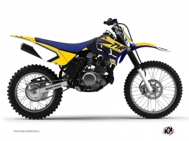 Yamaha TTR 125 Dirt Bike Vintage Graphic Kit Yellow