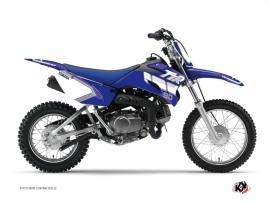 Yamaha TTR 90 Dirt Bike Vintage Graphic Kit Blue