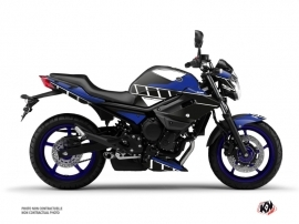 Yamaha XJ6 Street Bike Vintage Graphic Kit Blue