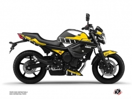 Yamaha XJ6 Street Bike Vintage Graphic Kit Yellow
