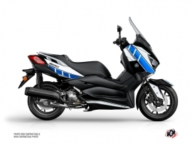 Yamaha XMAX 300 Maxiscooter Vintage Graphic Grey Blue