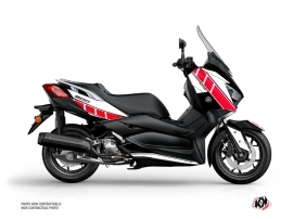 Yamaha XMAX 300 Maxiscooter Vintage Graphic Red