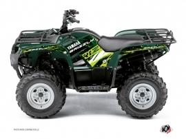 Yamaha 350 Grizzly ATV Wild Graphic Kit Green