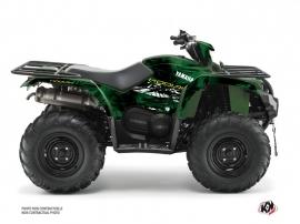 Yamaha 450 Kodiak ATV Wild Graphic Kit Green
