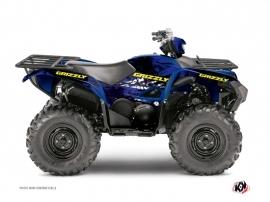 Yamaha 700-708 Grizzly ATV Wild Graphic Kit Blue