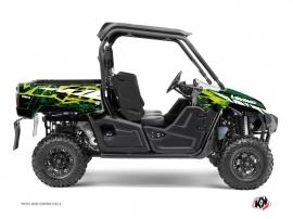 Yamaha Viking UTV Wild Graphic Kit Green