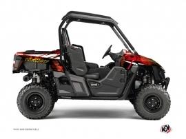 Yamaha Wolverine-R UTV Wild Graphic Kit Red