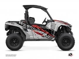 Yamaha Wolverine RMAX UTV Wild Graphic Kit Grey