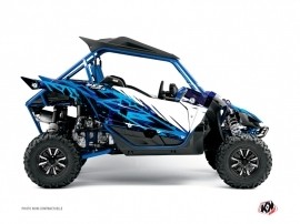 Yamaha YXZ 1000 R UTV Wild Graphic Kit Blue