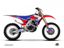 Kit Déco Moto Cross Wing Honda 450 CRF Bleu
