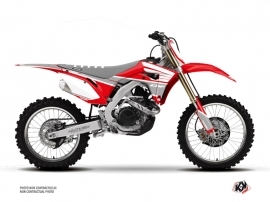 Honda 450 CRF Dirt Bike Wing Graphic Kit Grey