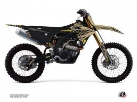 Suzuki 450 RMZ Dirt Bike Zero Graphic Kit Sand