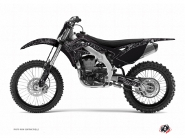 Kawasaki 125 Kx Dirt Bike Zombies Dark Graphic Kit Black Kutvek