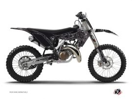 Kit Déco Moto Cross Zombies Dark Husqvarna TC 125 Noir