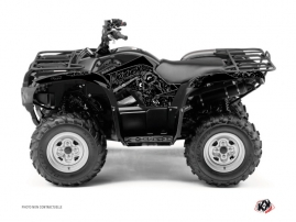 Yamaha 125 Grizzly ATV Zombies Dark Graphic Kit Black