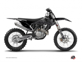 KTM 125 SX Dirt Bike Zombies Dark Graphic Kit Black