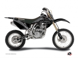 Honda 150 CRF Dirt Bike Zombies Dark Graphic Kit Black