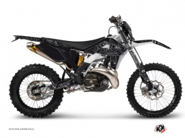 GASGAS 250 ECF Dirt Bike Zombies Dark Graphic Kit Black