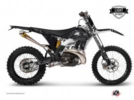 Kit Déco Moto Cross Zombies Dark GASGAS 250 ECF Noir LIGHT