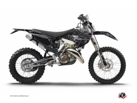 Husqvarna 250 FE Dirt Bike Zombies Dark Graphic Kit Black