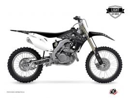 Honda 250 CRF Dirt Bike Zombies Dark Graphic Kit Black LIGHT