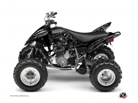 Yamaha 250 Raptor ATV Zombies Dark Graphic Kit Black