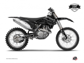 KTM 250 SX Dirt Bike Zombies Dark Graphic Kit Black LIGHT