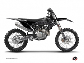 KTM 250 SXF Dirt Bike Zombies Dark Graphic Kit Black
