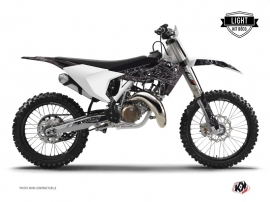 Kit Déco Moto Cross Zombies Dark Husqvarna FC 350 Noir LIGHT